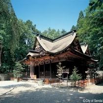 ◇伊達家の守護神を祀る神社、大崎八幡宮。どんと祭のはだか祭でも有名。
