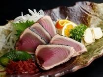 レストランメニュー☆鰹のタタキ☆¥1500