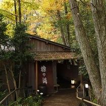 櫟の湯アプローチ