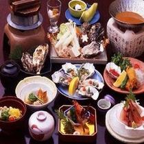 牡蠣5品付瀬戸内会席イメージ