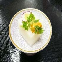 先付の手作り豆腐イメージ