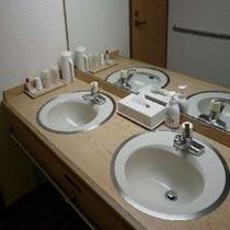 客室内洗面台