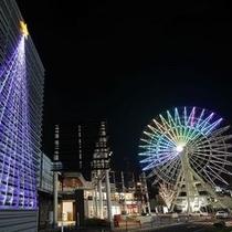 三井アウトレットパーク仙台港(夜)