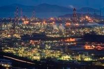 水島工業地帯(夜景)1