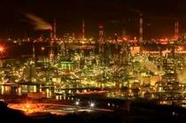 水島工業地帯(夜景)2
