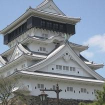 *北九州有名な観光スポット「小倉城」 ※お車で20分