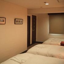 *【トリプル(特別室)】38㎡のゆったりしたスペースのお部屋