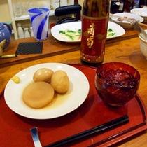 *【和光さん】シッカリと味付けされたおでん。お酒がすすみます。