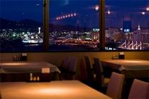 レストランからの夜景