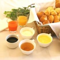 「こだわりの朝食」メニュー