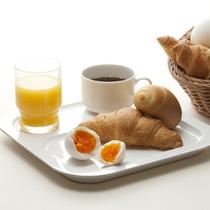 メニュー充実!無料朝食