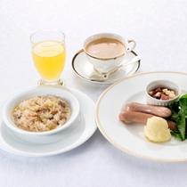 朝食季節のリゾット