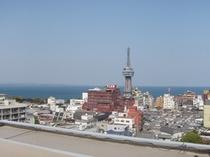 松美本館 上層階の景観