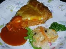 秋鮭のパイ