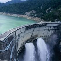 ダイナミックな観光放水は〜10/15まで楽しめます。