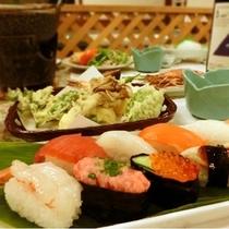 富山のにぎり鮨が登場!新しい夕食メニューです♪