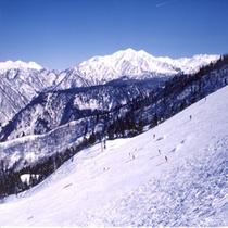 立山山麓スキー場オープン