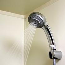 多機能シャワー☆スプレー、ミストなど切り替えOKなシャワーで旅の疲れをお流しください