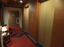 【館内】エレベーターホール