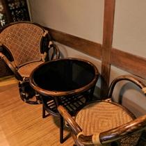 ご婦人大浴場「亀の湯」◆ちょっとした休憩スペースも。