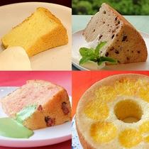夕食(ビュッフェ)◆月替りの専属パティシエ特製シフォンケーキ