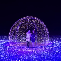 30万球!光の楽園「イルミナスオーシャン」