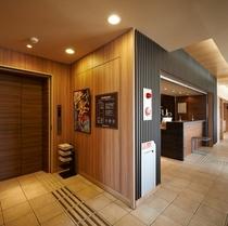 【フロント】エレベーターホール横