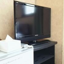 洋室のテレビ