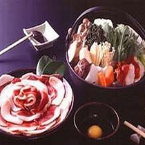 丹波篠山の本格ぼたん鍋をぜひ一度ご賞味ください。