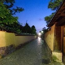 長町武家屋敷跡はホテルから徒歩5分の距離です。