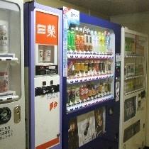 自販機コーナーは1階にございます。