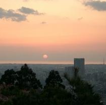 卯辰山山頂からの眺望