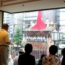 祇園祭(2階宴会場から)