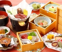 奈良の食材を使ったお料理…大和遊膳