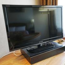 全室液晶テレビ完備