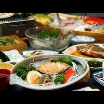 料理一例 アワビ