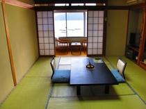 客室一例10畳