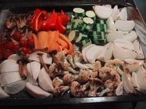 オーブン焼き野菜