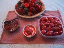 イチゴのコンポウート&イチゴジャム