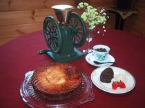 自家製手作りケーキ