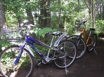 軽井沢高原をサイクリング