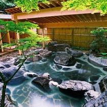庭園露天風呂'竹林'