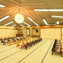 中宴会場【米山】/夏季特別期間のご夕食会場イメージ