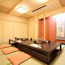 食事処【汐風】/夕食は「個室」でお召し上がりいただております。※個室一例
