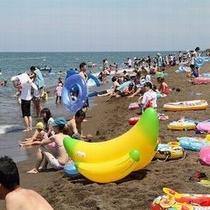 【鵜の浜海水浴場】/夏の家族旅行はお任せ下さい!大切な家族の思い出を…