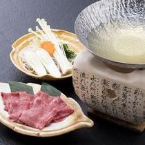 チョイス料理:【和牛のしゃぶしゃぶ】 ※イメージ