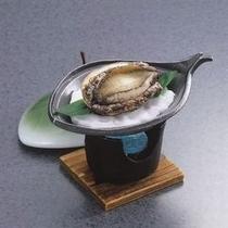 チョイス料理:【あわびの踊り焼き】/ ※イメージ