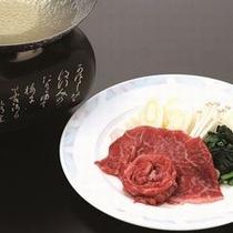 チョイス料理:【にいがた村上牛のしゃぶしゃぶ】 ※イメージ