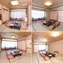 【和室おまかせ】/広さは8~15畳まで。お客様の人数に合わせてご用意致します。