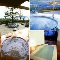 露天風呂付客室(風呂)